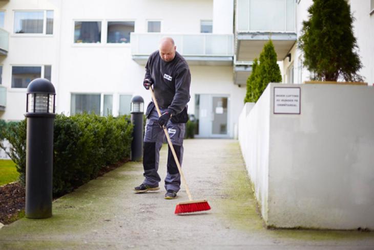 En gartner øker verdien til borettslaget