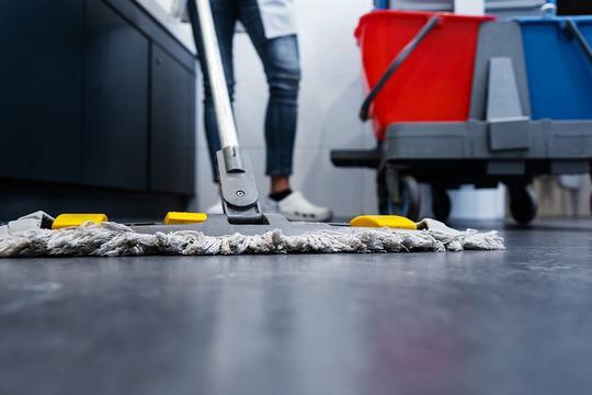 Godt renhold starter med dørmatta