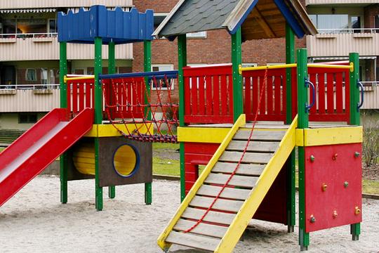 Barna skal ha fine og trygge områder i fellesarealet