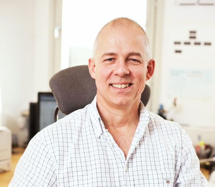 Geir Andersen startet firmaet Vaktmester Andersen høsten 1996